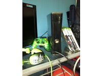 xbox 360 good condition selling due to the son wanting a ps3