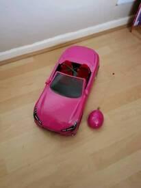Bratz doll remote control car