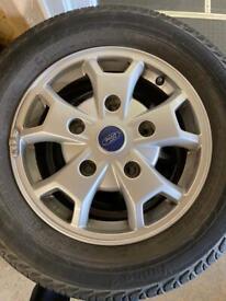 Ford Transit Custom LTD Alloys &Tyres
