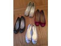 Brand new size 6 ladies flat shoes
