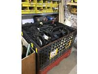 Job lot of HTD, Imperial, v drive timing belts