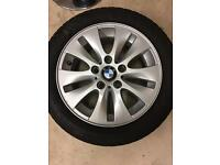 X4 15 inch continental winter tyres and alloys for sale