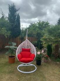 Outdoor and indoor Rattan Egg Hanging Chair