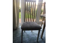 Light Maple look Octagonal Table and Chairs