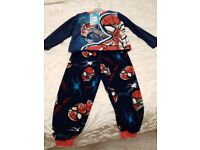 Boys fleece pyjamas