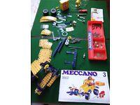 Vintage meccano set 3