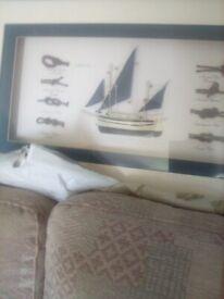 Boat picture vgc £5