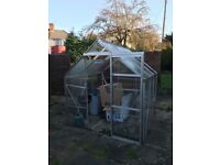 Greenhouse 6ft x 6ft x 203 cm height