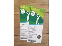 Rio Olympics pair of Golf tickets 11th August