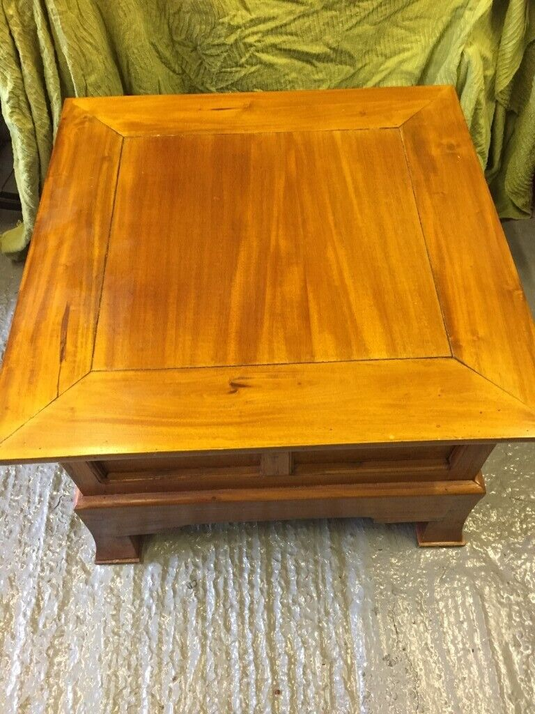 Wooden Square Coffee Table In Guildford Surrey Gumtree