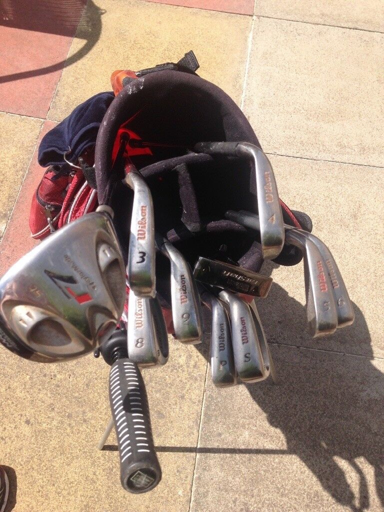 Wilson Graphite Clubs / Taylor Made R7 3 Wood