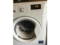 White Beko washing machine
