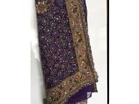 Asian Indian Pakistani Wedding Dress Saree