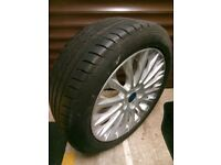Alloy Wheel and part worn Tyre