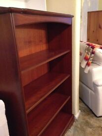 TV Unit and Bookcase for Sale, John E Coyle cherrywood very good condition