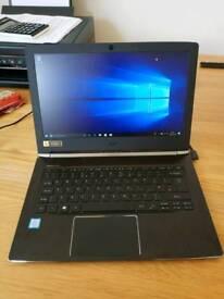 """Acer Aspire S 13 S5-371-381P 2.3GHz i3-6100U 13.3"""" 1920 x 1080pixels Black Notebook"""