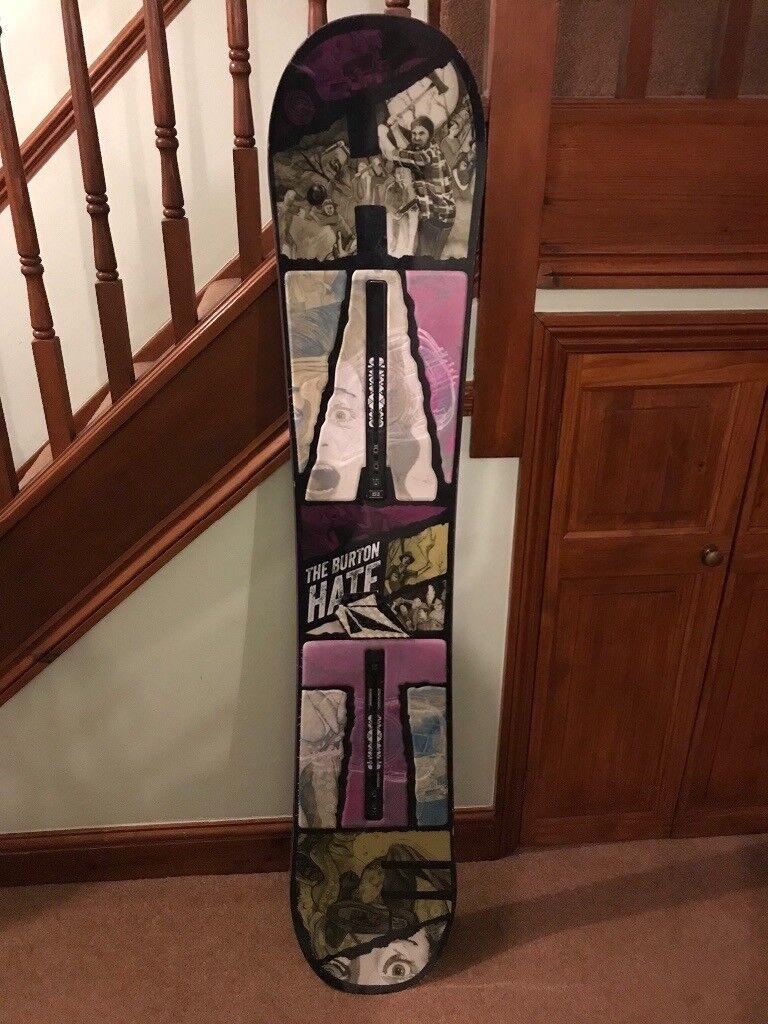 Burton snowboard  2f3fb1560ac89
