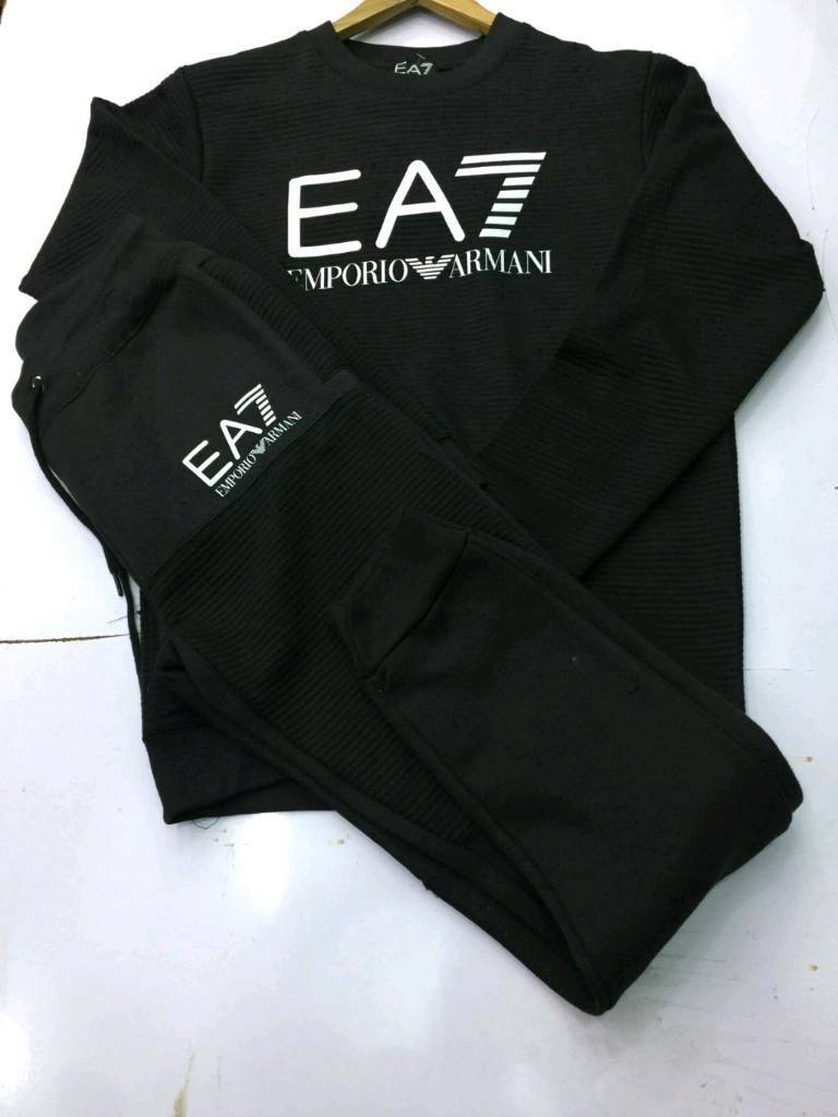ea7 tracksuits sizes small to xxl