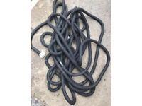 Heavy duty mooring rope