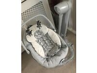Joie 2 in 1 swivel baby chair swing