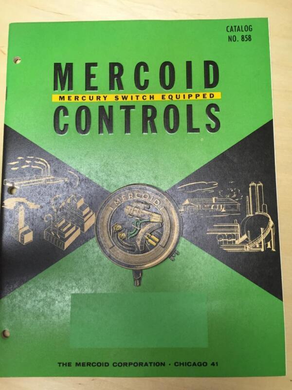 Vtg Mercoid Controls Catalog ~Automatic Temperature Pressure Liquid Levels 1958