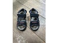 Eu 33 Uk 1 Good Used Condition Kids' Clothes, Shoes & Accs. Geox Boys Blue Sandals Size