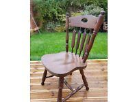 4 x farmhouse chairs