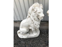 Two Set's of 5 Foot Lion Ornamental Satatue's Suitable for Large House