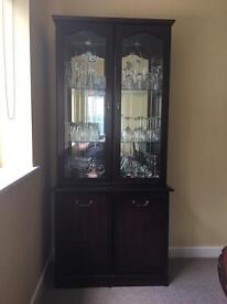 Mahogany unit for the dining room.