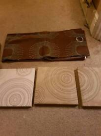 Curtains and Wall plaques