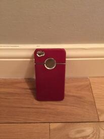 iPhone 4 Case in red