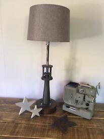 Unique Metal Machine Part Table Lamp