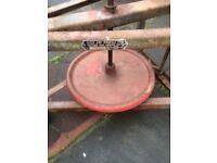 Potters pottery wheel