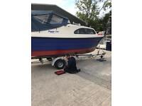 Shetland speedwell cabin cruiser plated no 022