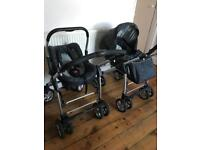 Silvercroos carrycot and car seat