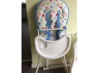 Baby High Chair - Excellent Condition