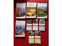 9 DK Eyewitness Travel Guide Books: