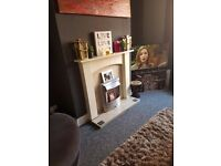 Large 2 double bedroom UNFURNISHED mid terraced property in Marley Street, Leeds LS11