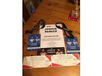 Face Value £4000!! VIP Players lounge Anthony Joshua vs Joseph Parker 31st March