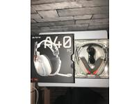 ASTRO A40 Gaming headset nearly new (missing cable)