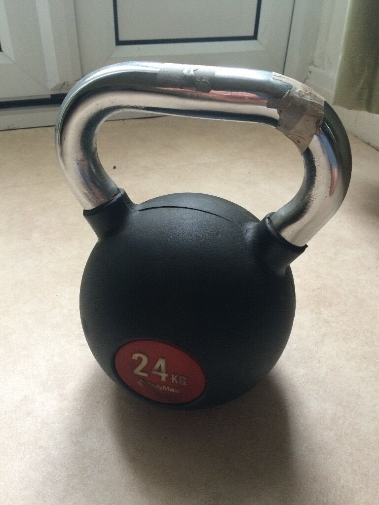 Kettlebell - 24kg, vinyl coated, good condition