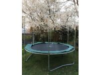 Trampoline 10ft Plum without net