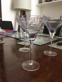 LSA cocktail glasses