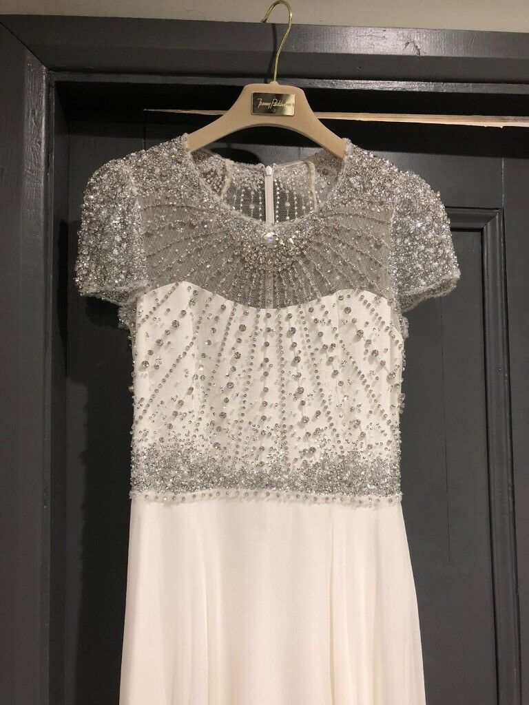 Jenny Packham Pippa Wedding Dress Size 12 Bridal Gown For