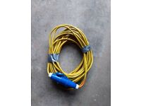 25 metre mains 16amp hook up cable