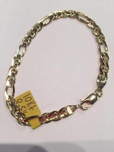 #844 10K Marine Link Bracelet $365!
