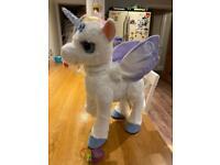 Fur Real friends Star Lily Unicorn - new!