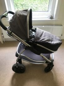 I Candy Strawberry stroller, park and carrycot with accessories