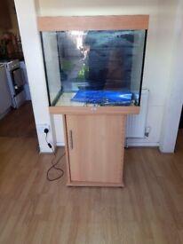 Juwel lido 200 litre fish tank and stand