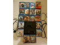 Sony PS4 500GB (CUH-1003A) + 2 controllers + 6 games + 14 Blu-rays